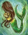 Brown Haired Mermaid by sobeyondthis