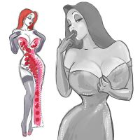 Jessica Rabbit by madwurmz