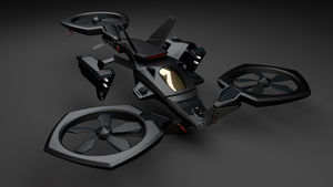 Tricopter by marincastefan