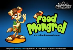 Mascot design: Food Mongrels by SOSFactory