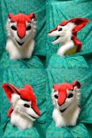 Syx the Sergal head by temperance