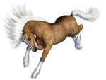 Unicorn 01 PNG Stock by Jumpfer-Stock
