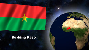 Flag Wallpaper - Burkina Faso by darellnonis