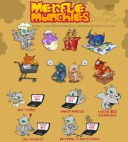 Merfle Munchies 2012 by The-SixthLeafClover