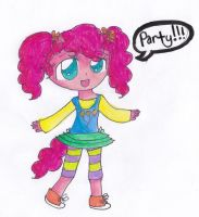 Pinkie Pie semi-human by timelordponygirl