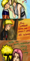 Footprints in the Sand - Naruto by appleshiner