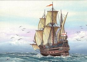 Galleon by worldIsee