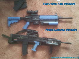 Ares L85 A2  H and K 416 by Luckymarine577