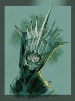 The Mouth of Sauron by beastboyjoe