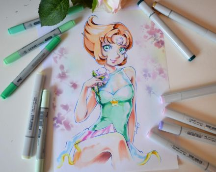 Pearl from Steven Universe by Lighane