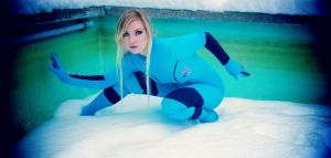 Winter Samus Aran by CosplayButterfly