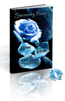 Rose Petals of Serenity- 3-d Book Cover by Miyasia