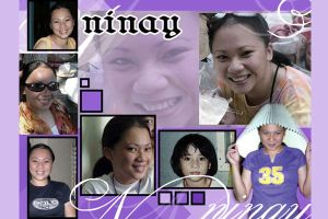 ninay collage by eggay