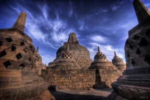 hdr - borobudur 02 by mayonzz