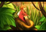 The Secret World of Arrietty by Paranoidvin