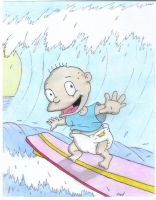 Rugrats: Surfing by fredvegerano