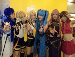Vocaloid group! by touyahibiki