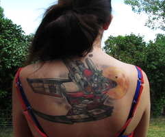 StarScream Tattoo by MorRokko