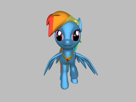 Rainbow Dash by pegasister-abby