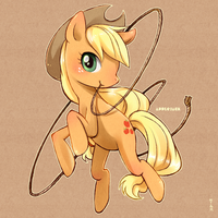 MLP_Applejack by bji4z06kimocom