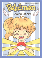 Kawaii Pokemon Card: Deck Back by PockyCrumbs