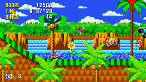 Sonic and Tails - Mock Up 'Cyan Coast Zone Act 3' by MrLevRocks