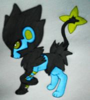Luxray Request by xXFF7xYaoixX