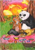 Kung Fu Panda: The Picnic by Mariya14