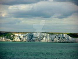 White Cliffs of Dover by Lady-Kathryn
