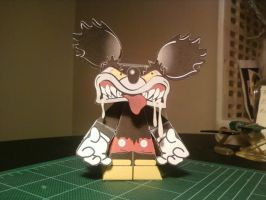 Psycho Mickey by SCroman
