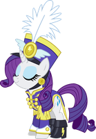 Vector - Wonderbolts General Rarity by JustinKWork