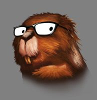 Beaver Geek by alanbecker