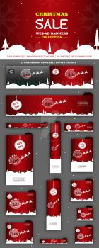 Christmas-Sale-Banners by Grafix-Drive