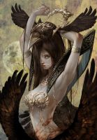 Crow queen by tahra