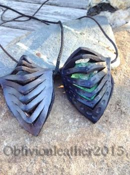 Alien Pod Pendants by Oblivionleather76