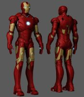 Iron Man Completed highpoly by dd2005