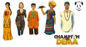 Cast of DEMA by Lycatel