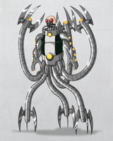 Doctor Octopus Redesign by payno0
