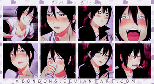 Pack Icons Sexy Boy by xBonbons
