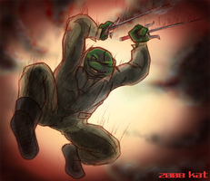 TMNT TBOTS Raphael in Action C by theblindalley