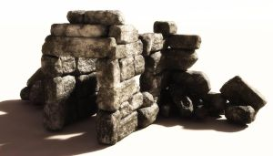 Temple Ruin - Freebie by Dave-DK