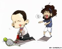 tennis incident-1 by TYshangshan