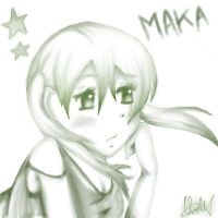 Maka waiting by Spring-Wolf