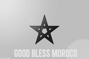 GoD Bless Morocco by Aminebjd