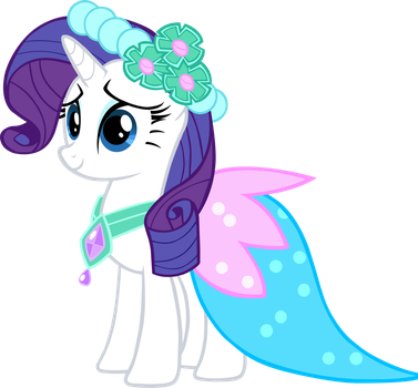 Miss Rarity by Queina