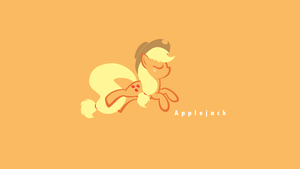 Applejack, pure and simple by littlexander
