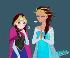 Yugioh + Frozen by RavenAnime