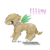 Young Linu by Jarlesberg