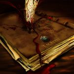 the stabbed diary by hotpinkscorpion