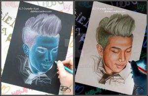 Rap Monster Inverted [BTS] by Delinlea